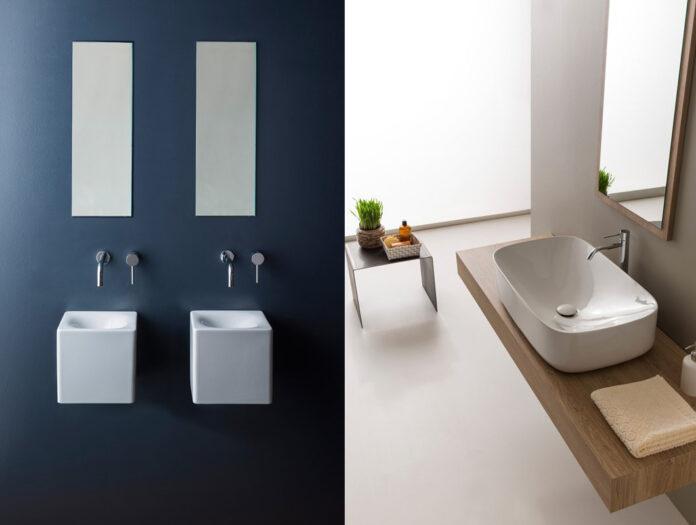 bagno moderno lavabi tendenza 2016