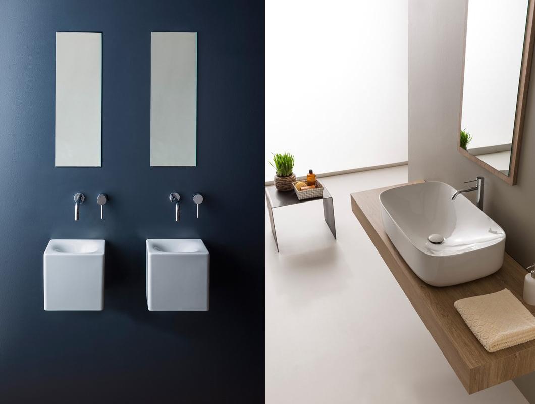 Bagno moderno e lavabi di tendenza 2016 mondo abitare for Bagno moderno 2016