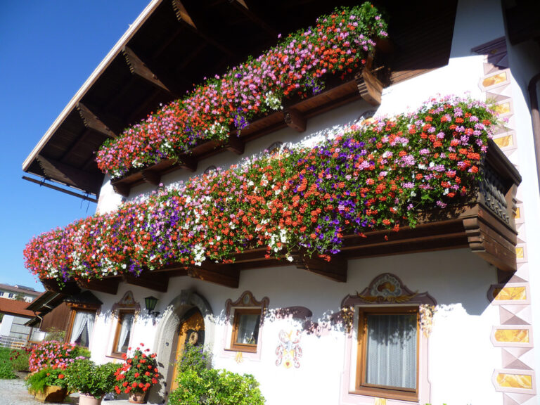 Balconi fioriti? Scopri l'esposizione giusta!
