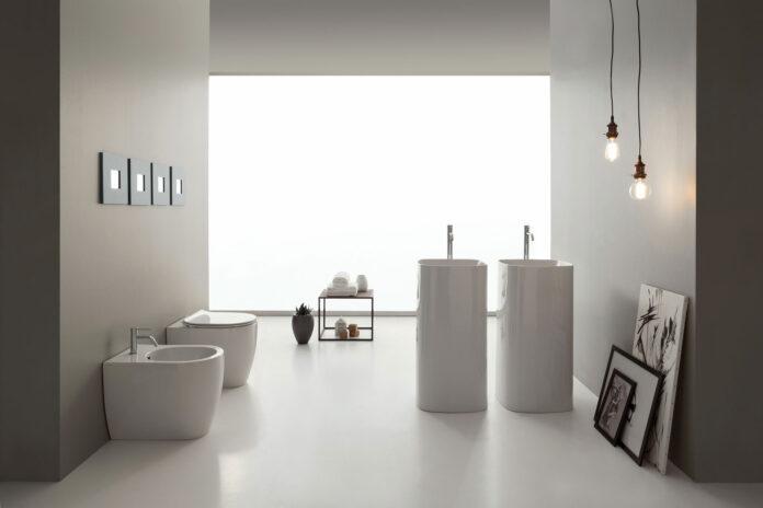 Arredare il bagno con i quadri - Foto Credits: Ceramica Scarabeo
