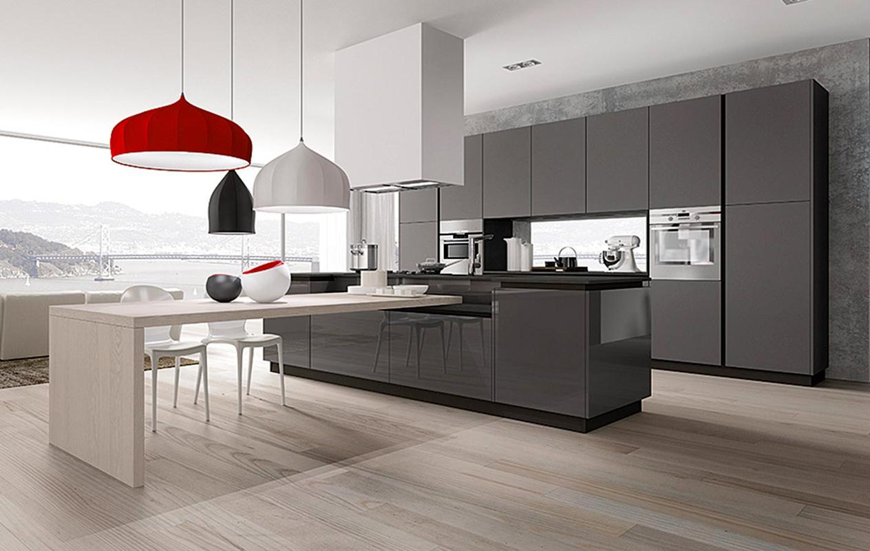 Isola o penisola in cucina serve lo spazio giusto per for Cucina penisola