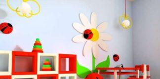 la stanza giochi dei bambini