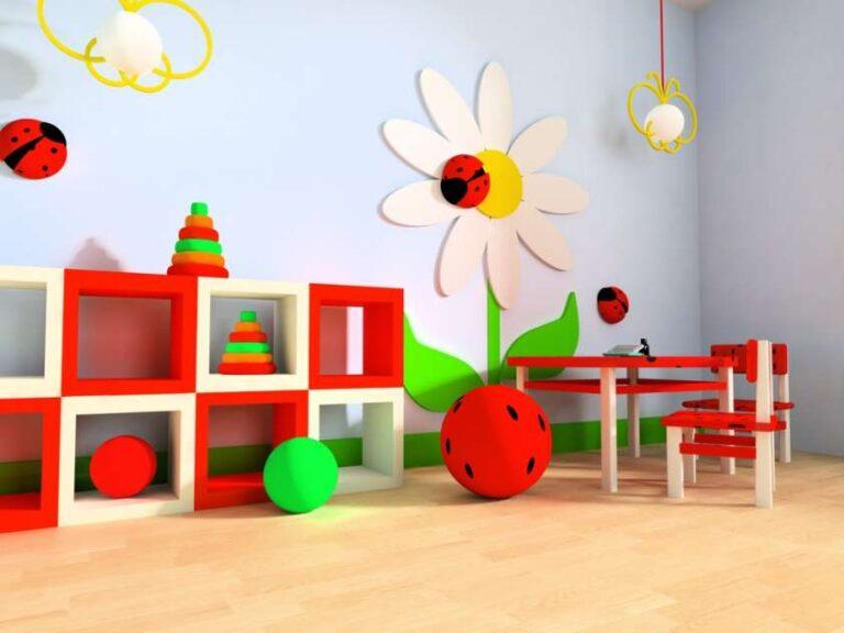 Stanza giochi, crea lo spazio per i piccoli