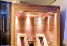 sauna a raggi infrarossi