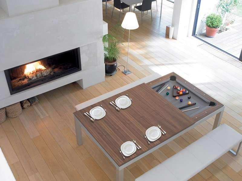Tavolo Cucina Biliardo.Biliardo Il Gioco Diventa Tavolo Da Design