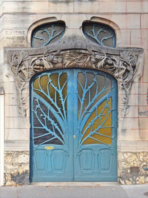 Porta Art Nouveau