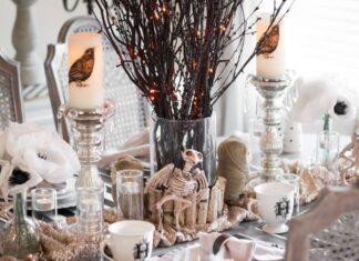 tavola per halloween
