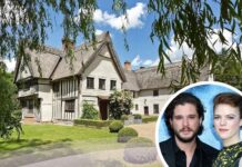 La casa di Kit Harington e Rose Leslie