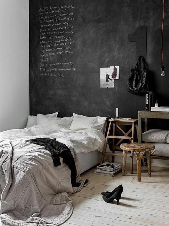 Vernice lavagna: le pareti di casa non saranno più le stesse ...
