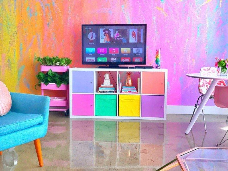 13f1b915da Avete mai pensato di vivere in una casa arcobaleno? casa arcobaleno