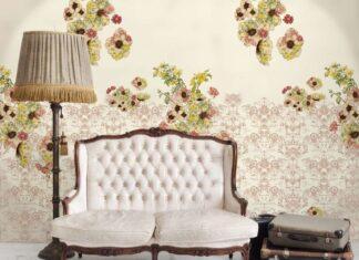 decorare parete bianca