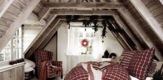 camera da letto Natale