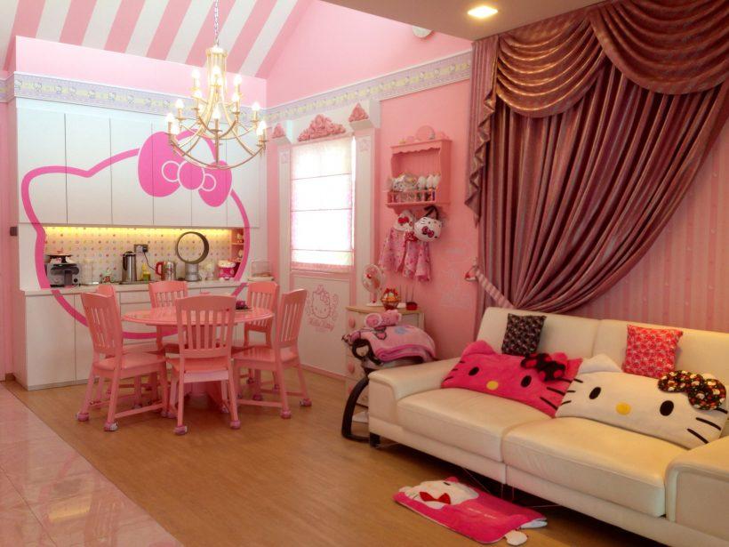 Una casa bianca e rosa: la casa da 1 milione di dollari dedicata ad
