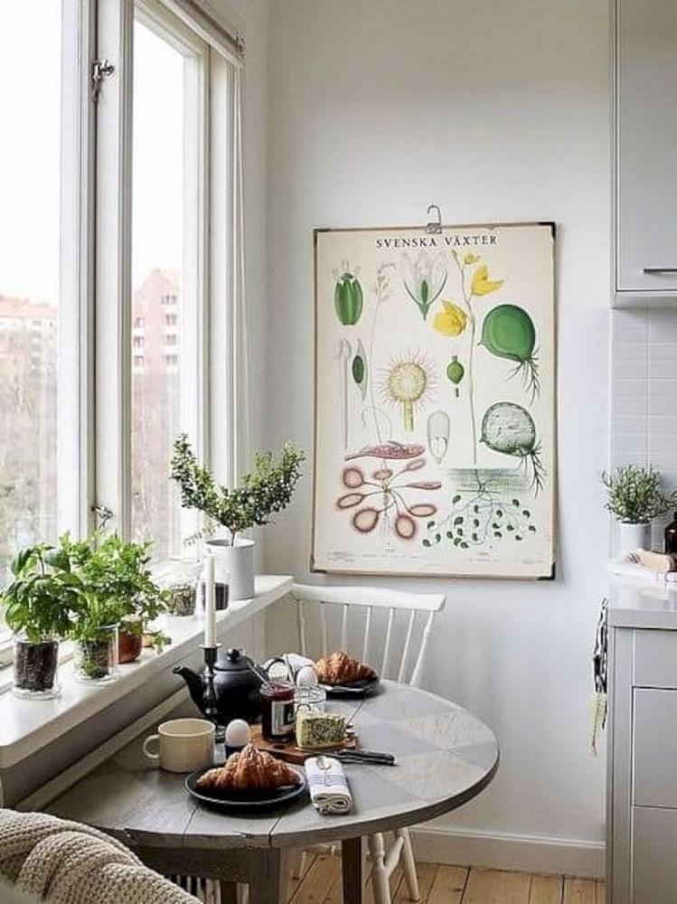 Tavoli Da Cucina Piccole Dimensioni.Cucina Piccola Ecco Come Trovare Spazio Per Il Tavolo Senza
