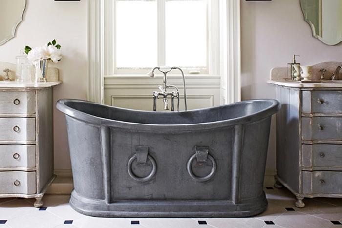 Vasca Da Bagno Retro : Vasca da bagno in stile retrò: prendere ispirazione dal passato