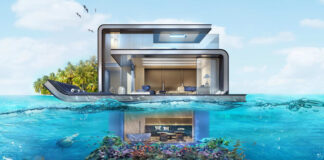 Case galleggianti di Dubai