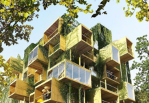 cubi di legno per ampliare i palazzi