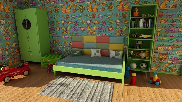 Organizza la camera del bambino come fosse un percorso di crescita!