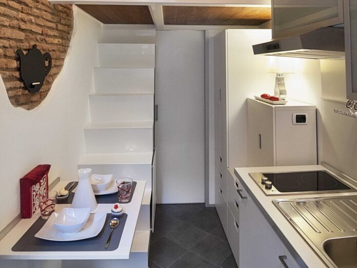 appartamenti più piccoli del mondo