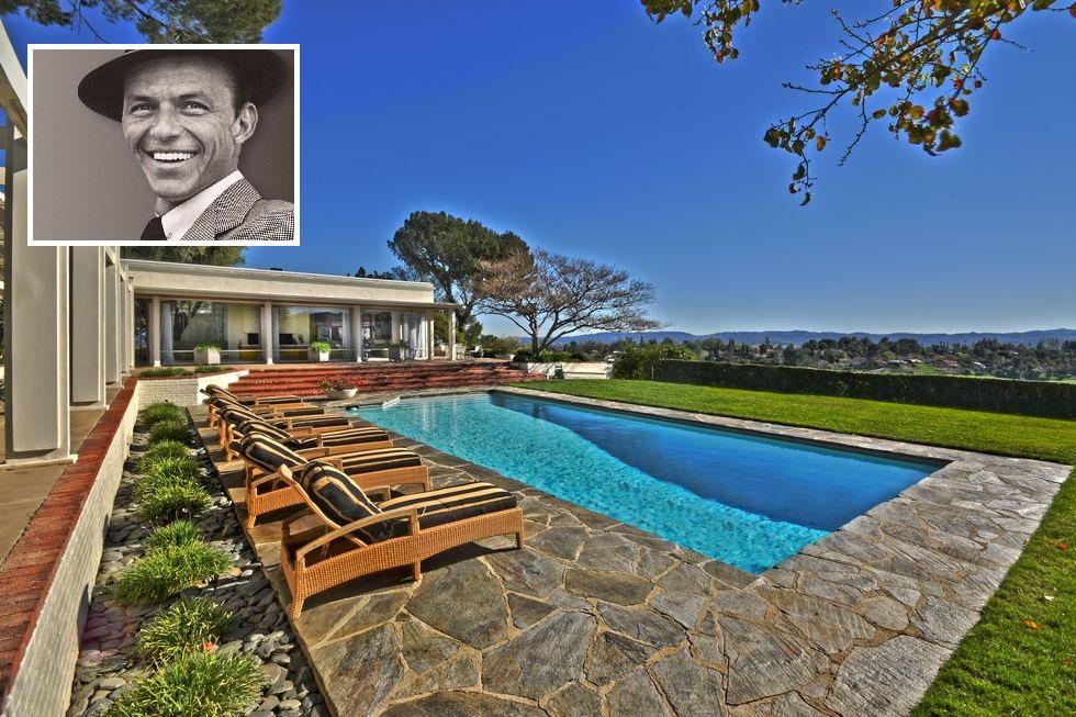 Un White Christmas dalla casa di Frank Sinatra a Los Angeles