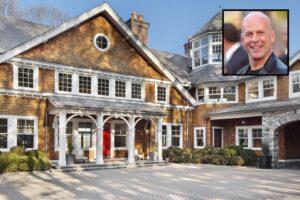 In vendita l'enorme villa di Bruce Willis, a nord di New York
