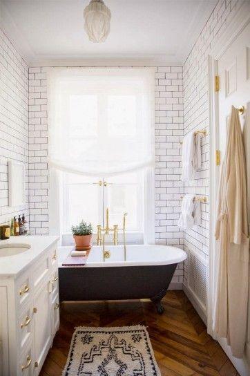 bagno in stile vintage
