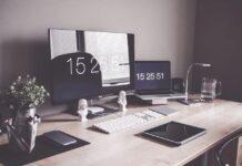 scrivania da lavoro