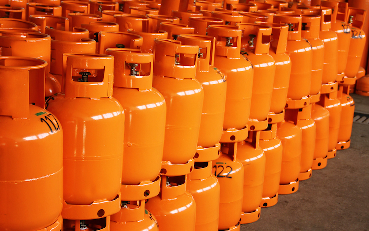 Gas cylinders: clean energy for your home and your business